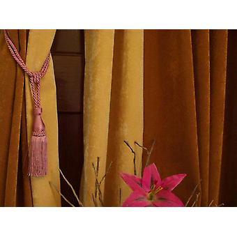 Pfirsich-handgefertigte Vorhang Zugband / Raffhalter / Tassel - paar