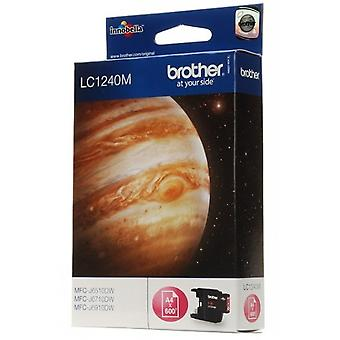 Brother LC-1240 M toner cartridge magenta (600 pagina's)
