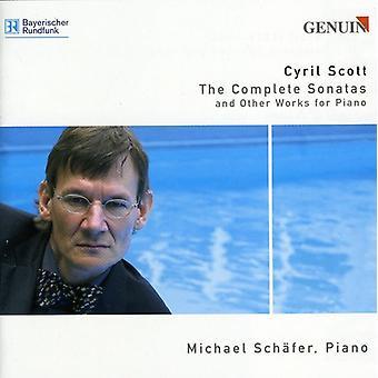 C. Scott - Cyril Scott: The komplet sonater og andre værker for klaver [CD] USA import