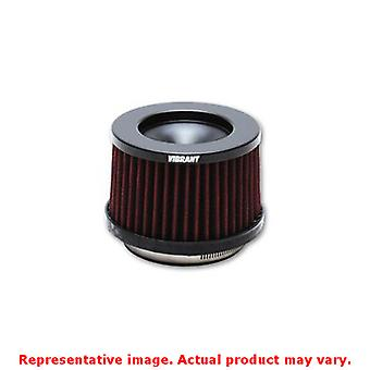 Vibrant Classic Air Filters 10930 4.75 OD Cone x 3-1/2 Tall x 3 inlet ID Fit