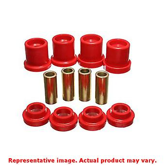 Energy Suspension Sub Frame Set 7.4102R Red Rear Fits:NISSAN 1990 - 1996 300ZX