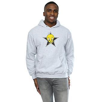 Looney Tunes Men's Tweety Pie Star Hoodie