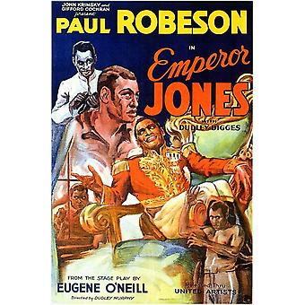 Emperor Jones Movie Poster (11 x 17)