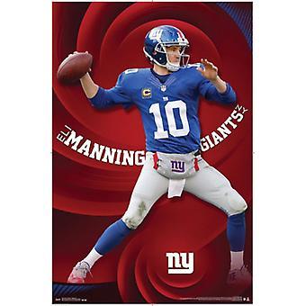 New York Giants - E Manning 15 plakat plakat Print