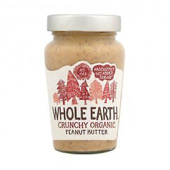 Hele jorden - peanøttsmør - organisk Crunchy 340g