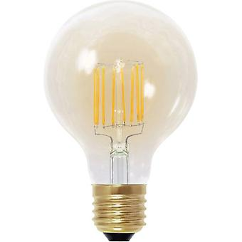 LED E27 Globe 6 W = 30 W Gold (Ø x L) 80 mm x 120 mm EEC: A Segula dimmable, Filament 1 pc(s)
