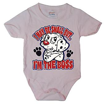 Hybris - I'M THE BOSS - Baby Grow Pink