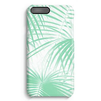 iPhone 8 Plus Full Print Case - Palm leaves