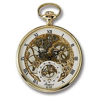 RapPort London Pocket Watch mechanical open face Pocket Watch PW88
