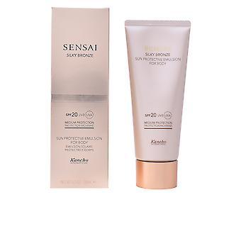 Kanebo Sensai Silky Bronze Sonne schützende Emulsion Körper Spf20 150ml Unisex