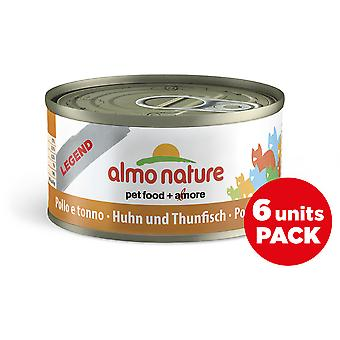 Almo nature Legend Wet Food for Cats in Chicken Tin and Tuna (Cats , Cat Food , Wet Food)