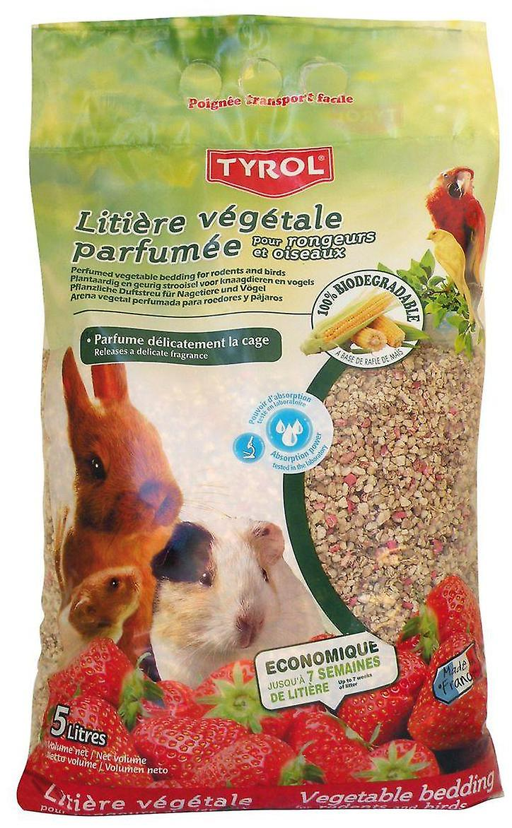 Tyrol Plant Litter Perfumed 5L (Roedores , Leitos e substratos)