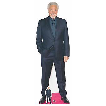 Tom Jones Lifesize pap påklædningsdukke / Standup