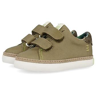 Gioseppo Boys 44048 Canvas Shoes Taupe