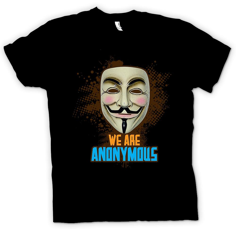 Kids T-shirt - V For Vendetta Anonymous