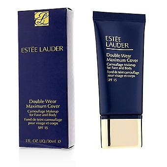 Estee Lauder Double Wear Maximum Cover Camouflage Make Up (Face & Body) SPF15 - #1N1 Ivory Nude 30ml/1oz