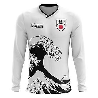 2018-2019 Japan Long Sleeve Away Concept Football Shirt (Kids)
