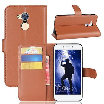 Pocket wallet premium Brown for Huawei honor 6A protection sleeve case cover pouch new