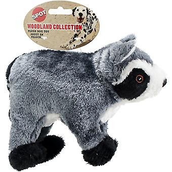 Spot Woodland Collection Plush Dog Toy-Raccoon 12.5