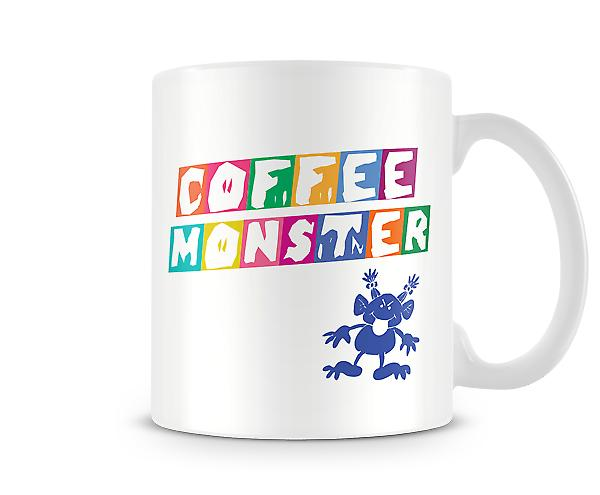 Coffee Monster Printed Mug