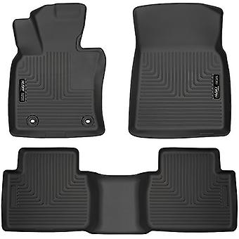 Husky Liners 95731 Black Front and 2nd Seat Floor Liner (Fits 18-18 Camry)