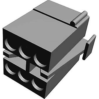 TE Connectivity Pin enclosure - cable MATE-N-LOK Total number of pins 6 Contact spacing: 5.08 mm 1-480270-0 1 pc(s)