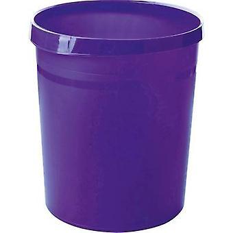 Waste paper basket 18 l HAN Grip (Ø x H) 312 mm x 350 mm