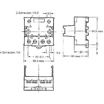 Relay socket 1 pc(s) Omron P7LF-06 Compatible with series: Omron G7L series (L x W x H) 55.5 x 56.5 x 35.2 mm
