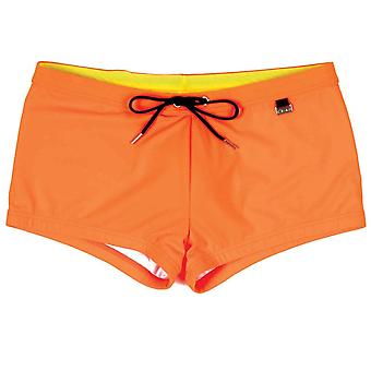 Hom Splash Up Swim Shorts, Orange, X-large