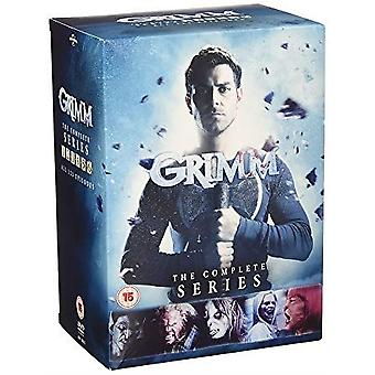Grimm: The Complete Series DVD Box Set