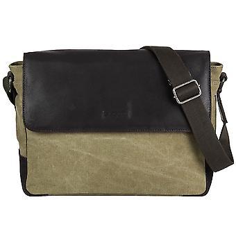 Bugatti Urbano canvas Messenger shoulder bag shoulder bag 494262