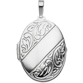 argento 925 /-s Medaglione Medaglione d'argento sterling silver ciondolo foto