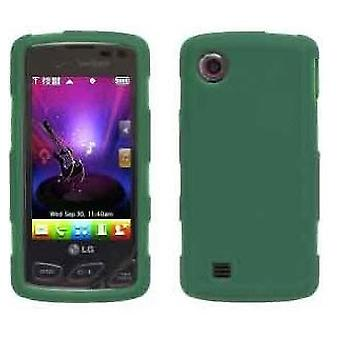 Wireless Solutions funda de Gel de silicona para LG VX8575 Chocolate Touch - verde del césped