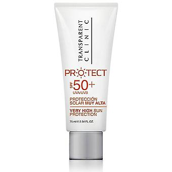 Transparent Clinic Protector Solar Protect Spf50+ 75 ml