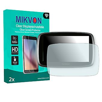 TomTom Go 500 (2013) Screen Protector - Mikvon Clear (Retail Package with accessories)