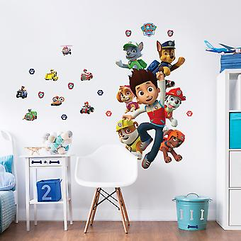 Paw Patrol Large Character Sticker Wall Decor