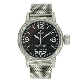 Aristo Messerschmitt Men's clock Fliegeruhr - Automatic 3H262-TT