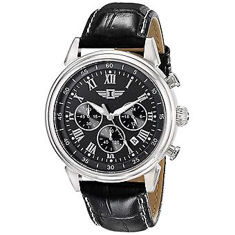 I By Invicta Leather Chronograph Mens Watch IBI-90242-001