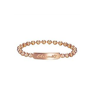 ESPRIT women's ring stainless steel Rosé sphere ESRG12763C1