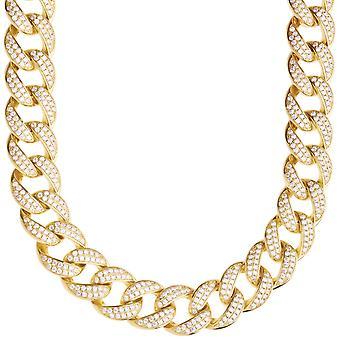 Premium bling Sterling 925 Silver Miami Cuban chain - 14mm