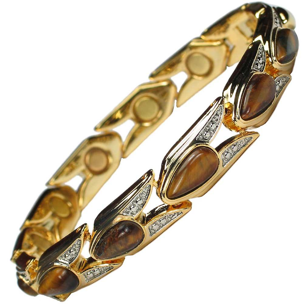 MPS® VENICE Magnetic Bracelet Amber Stones + FREE Links Removal Tool