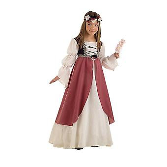 Clarissa medieval maid child costume Castle maiden girl dress