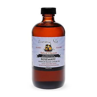 Солнечный остров ямайский касторовое масло розмарина 8 унций.