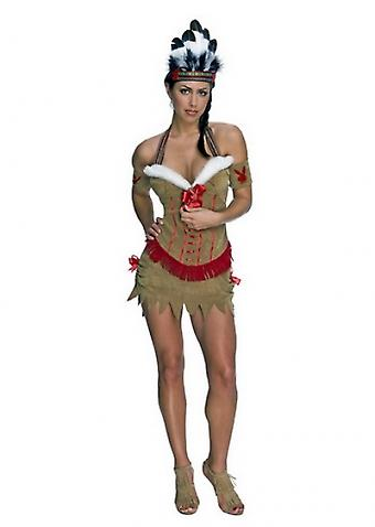 Waooh 69 - Indian Costume Sexy Lulu Brown
