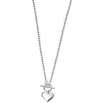 Coeur de débuts sur Ball Chain Necklace - Silver