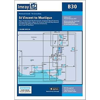 Imray Chart B30 - Grenadines - North Sheet - St Vincent to Mustique by