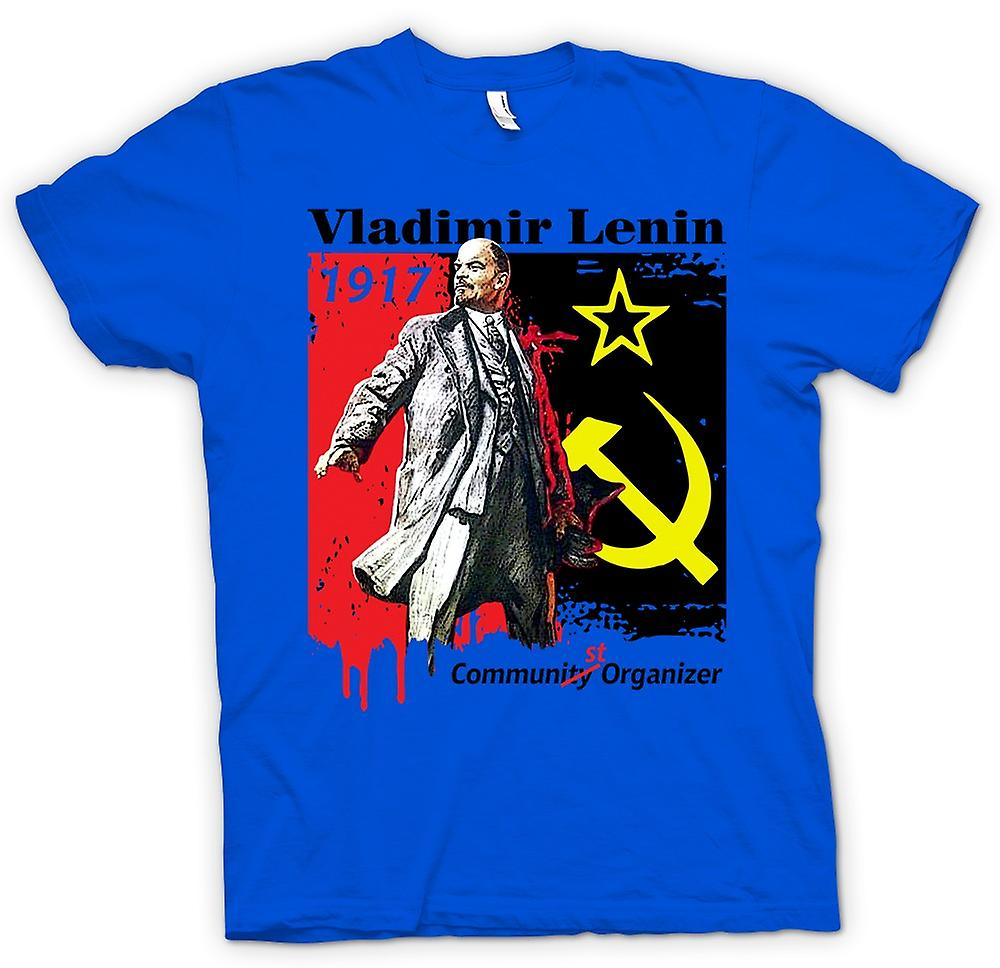 Mens T-shirt - Vladimir Lenin - Communist - Russia - Icon