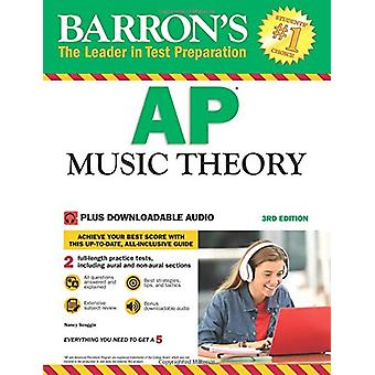 AP Music Theory with Downloadable Audio by Nancy Scoggin - 9781438076
