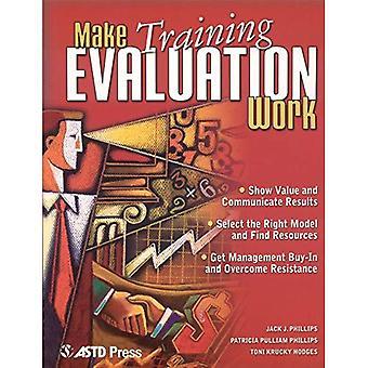 Make Training Evaluation Work