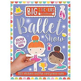 Stora dekaler för små händer: balett Visa (stora klistermärken för små händer)